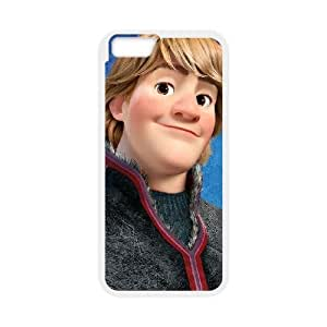 iPhone6 Plus 5.5 inch Phone Case White Frozen Kristoff JHI2325782