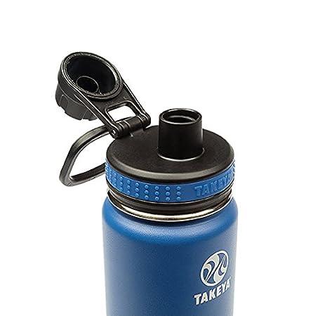 40oz Takeya Originals Vacuum-Insulated Stainless-Steel Water Bottle Navy 50027