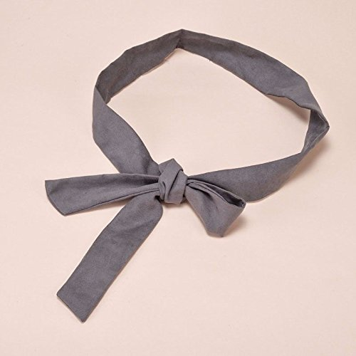 SAIBANGZI All Season In The Spring Summer Ladies' Flannel Ribbons Tie Their Belts birthday present ()