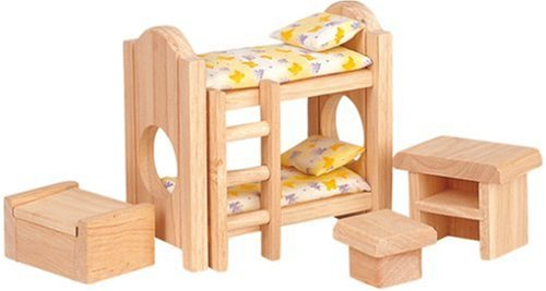 Plan-Toy-Doll-House-Childrens-Bedroom-Classic-Style