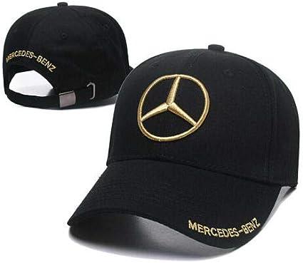 Nouveau pour Mercedes Benz /² Logo AMG Cap Sport Chapeau de Base-Ball en Plein air r/églable