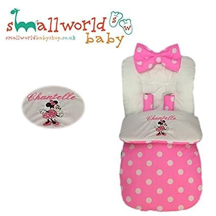 Cosytoes personalizados de Minnie Mouse: Amazon.es: Bebé