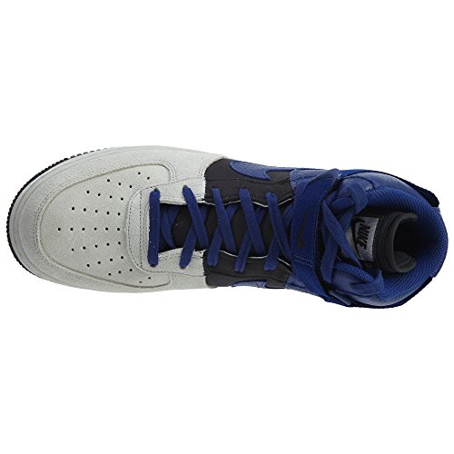 Nike Air Force 1 Hoch '07 Lv8 Mens Style: 806403 Reines Platin / tiefes Königsblau