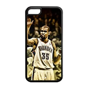 iPhone 5C TPU Case with Oklahoma City Thunder Kevin Durant Graphic Image-by Allthingsbasketball