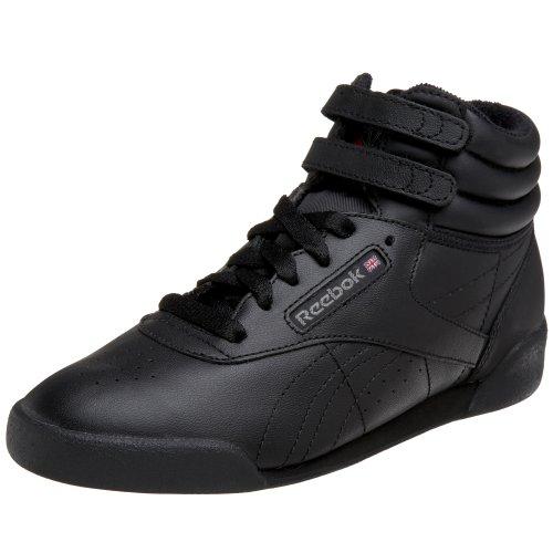 (Reebok Big Kid FS Hi Sneaker,Black/Grey,4 M US Big Kid)