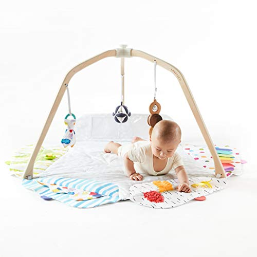 Amazon Com The Play Gym By Lovevery Stage Based Developmental Activity Gym Play Mat For Baby To Toddler Baby