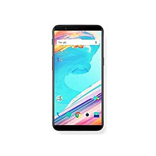 "OnePlus 5T A5010 64GB Midnight Black, Dual Sim, 6.01"", 6GB RAM, GSM Unlocked International Model, No Warranty (Renewed)"