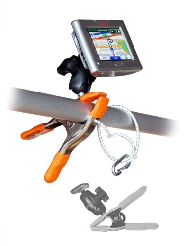 nClamp® GPS/Fishfinder Clamp Mount | The only rugged clamping mount for GPS and fishfinder. With an nClamp your mobile GPS or fishfinder is held stable while the nClamp's premium-quality head provides unparalleled positioning flexibility and full access to function keys.
