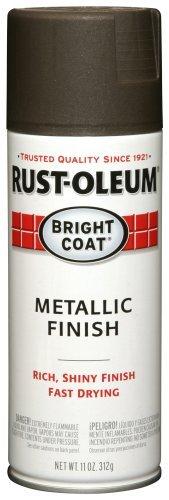 Rust-Oleum 7713830 Bright Coat Metallic Color Spray, 11-Ounce, Dark Bronze by Rust-Oleum by Rust-Oleum