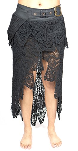 Mishu Women's MM102 Woodland Skirt Black Medium
