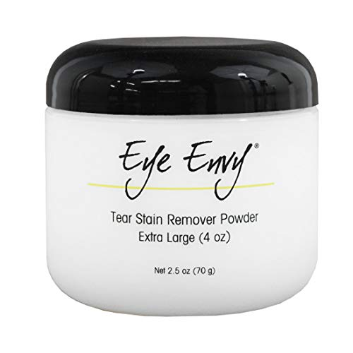 Eye Envy - Tear Stain Remover Powder- for Dogs and Cats, 4oz - Safe and Natural - Eye Envy Powder