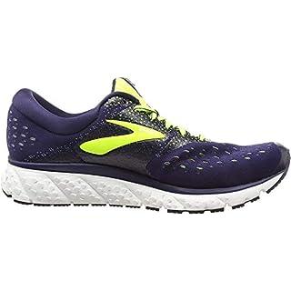 Brooks Mens Glycerin 16 Running Shoe - Navy/Nightlife/Grey - D - 9.5