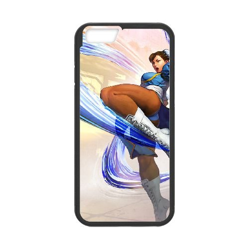 Street Fighter V 8 coque iPhone 6 4.7 Inch cellulaire cas coque de téléphone cas téléphone cellulaire noir couvercle EEECBCAAN03226