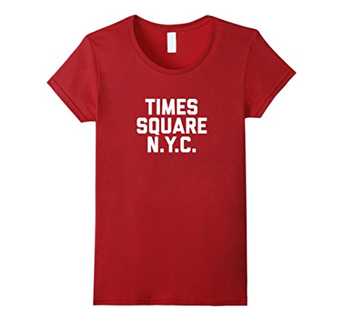 Womens TIMES SQUARE NYC T-Shirt New York City tee Small - In Square Times Shopping Nyc