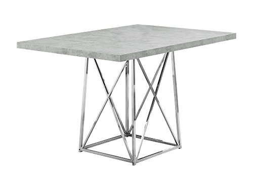 Monarch Specialties I I 1043 Dining Table Metal Base, 36