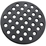 Dracarys Round cast Iron fire Grate, BBQ high Heat Charcoal Plate for Large Big Green Egg fire Grate Bottom Grate Grill Parts Charcoal Grate Replacement Parts Big Green Egg l accessories-9inch LFGC