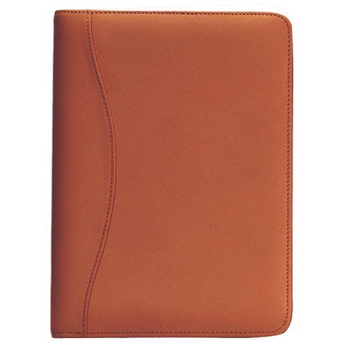 Royce Leather Kid's Junior Writing Padfolio, Tan