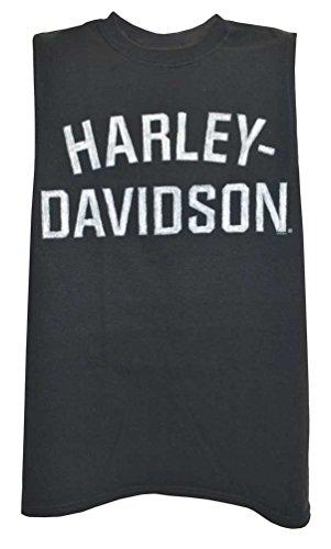 Harley-Davidson Men's Heritage H-D Muscle Shirt Tank Top, Black 30296631 (S)