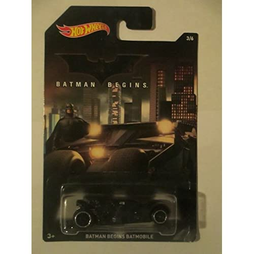 ac7a1840e3fb8 best Hot Wheels Batman 2015 Batman Begins Movie Batmobile 3/6 ...