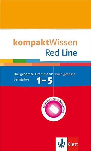 kompaktWissen Red Line: Die gesamte Grammatik kurz gefasst 1.-5. Lernjahr mit Online-Tests