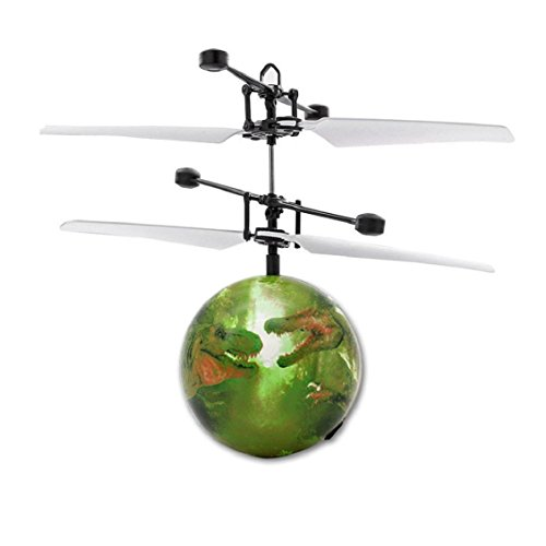 Price comparison product image Naladoo RC Flying Ball Drone Helicopter Ball Built-in Shinning LED Lighting for Kids Toy