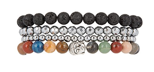 Tranquility Happiness Buddha Stretch Bracelets