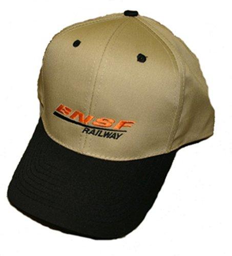 Daylight Sales BNSF Swoosh Logo Embroidered Hat [hat48] Black ()