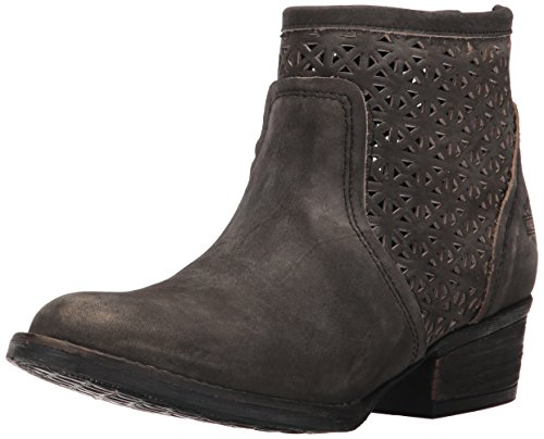 Harley-Davidson Women's Liam Ankle Bootie, Smoke, 7 M US