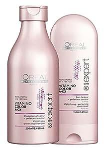 L'Oreal Professionnel Paris Vitamino Color Shampoo 8.45oz & Conditioner 5oz