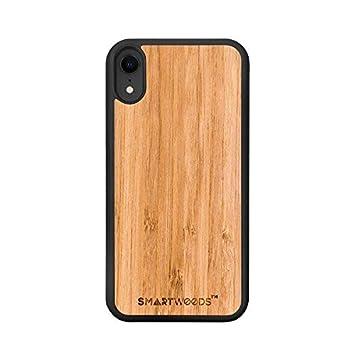 SmartWoods Funda para iPhone XS MAX, Carcasa de Madera para Smartphone, ecológica y Natural (Bamboo): Amazon.es: Electrónica
