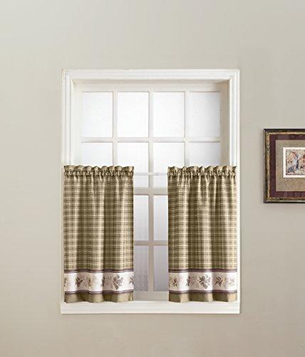 - No. 918 Berkshire Kitchen Tier Curtain Pair, 56