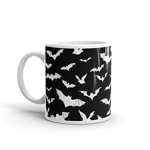 Going Batty. 11 Oz Mugs Made Of Durable Ceramic With An Easy Grip Handle.This Coffee Mug Has A Hefty But Classic Feel ()