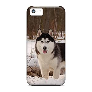 [dSi947EDSQ]premium Phone Cases For Iphone 5c/ Husky In The Snow Cases Covers