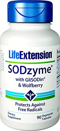 Life Extension SODzyme with GliSODin & Wolfberry, 90 Vegetarian Capsules Review