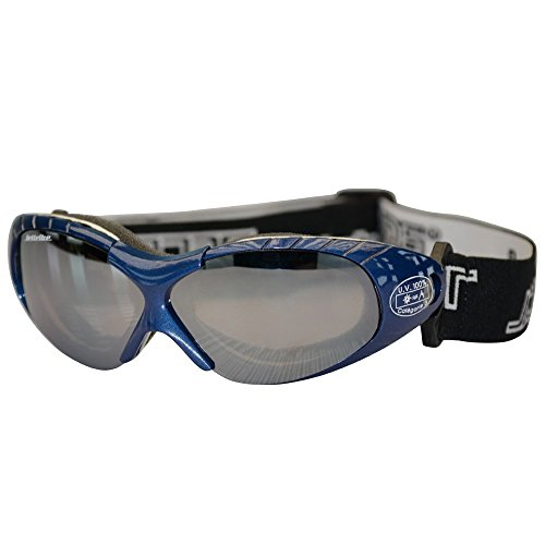 Spark Blue Sunglasses Floating Water Jet Ski Goggles Sport Designed for Kite Boarding, Surfer, Kayak, Jetskiing, other water sports. by Jettribe