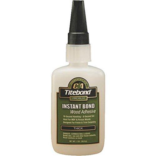 (Titebond Instant Bond Wood Adhesive Thick, 2 oz. )