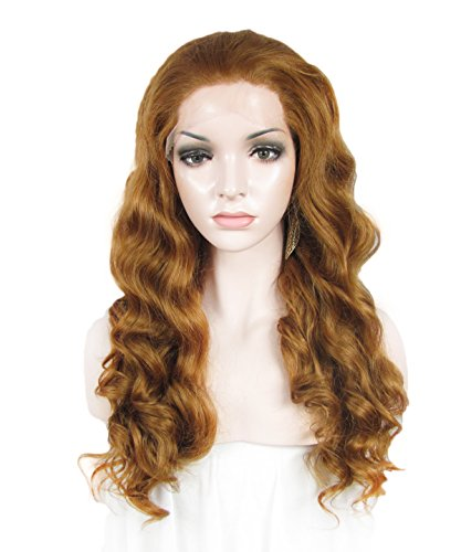 Imstyle Nicole Style Natural Honey Blonde Wave Synthetic Lace Front Wig