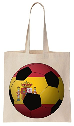 Spain Football 2016 Graphic Sacchetto di cotone tela di canapa