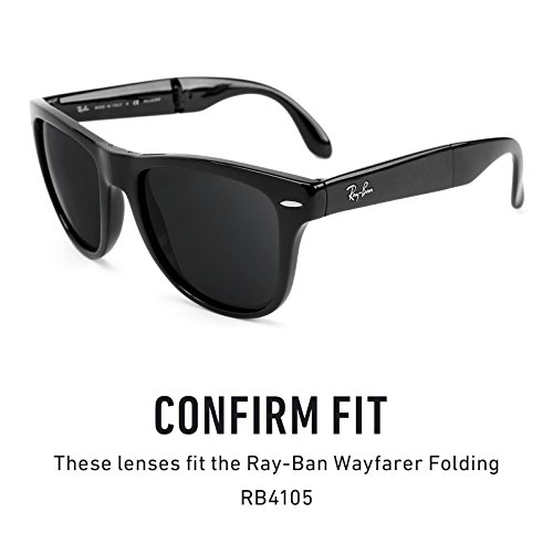 Polarizados Lentes Opciones No de repuesto RB4105 Gradient Ban Marrón 50mm múltiples — para Wayfarer Folding Ray fg4xfZr