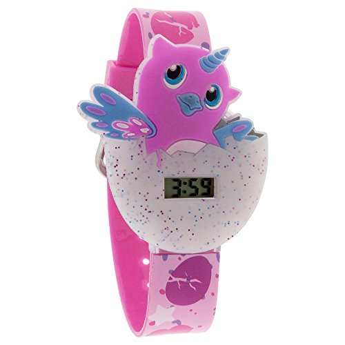 Price comparison product image Hatchimals Watch for Kids Girls Digital Wrist Watch Lights