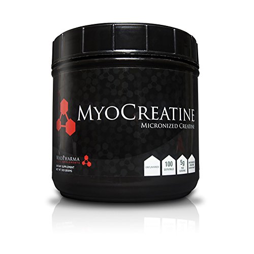 MyoCreatine, Creatine Monohydrate, 500g (100 Servings)