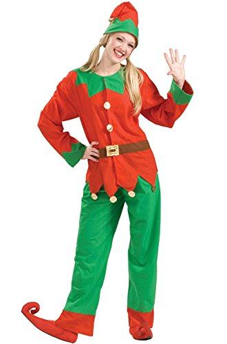 Forum Novelties Women's Simply Elf Costume, Multi, One