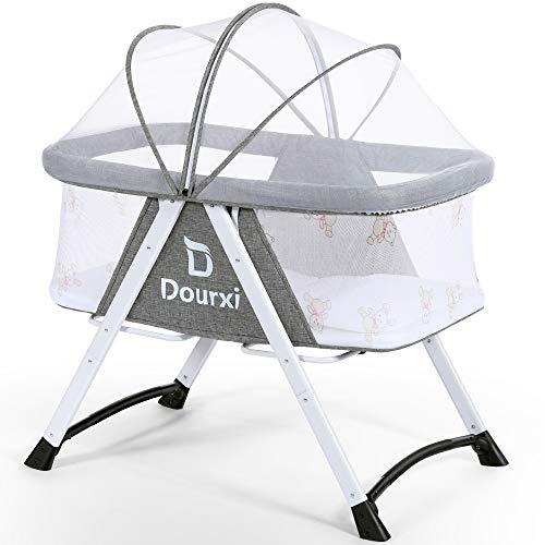 Amazon.com: Dourxi - Cuna de noche portátil 2 en 1 para ...