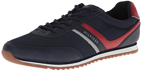 Tommy Hilfiger Men's fairhaven Sneaker,Navy,11.5 M US
