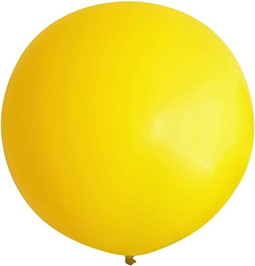 "3 ft HUGE 36/"" Yellow QUALATEX Latex Balloon Party Decoration Birthday Wedding"