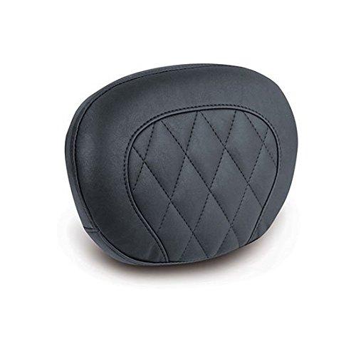 (06-16 HARLEY FLHX2: Mustang Passenger Backrest Pad (Black Diamond Stitched / 12