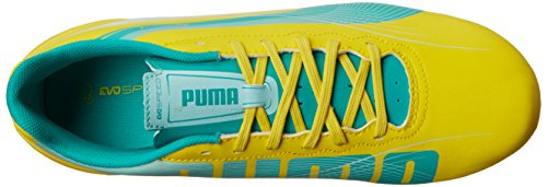 Evospeed Sol Taquet Puma Green Light Vibrant Yellow Football Ferme 4 spectra 2 blue dtxYYw6q