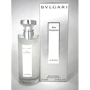 Bvlgari Au The Blanc Unisex Eau De Cologne Spray 2.5 oz, 75 ml