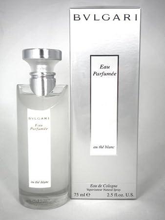 Amazoncom Bvlgari Au The Blanc Unisex Eau De Cologne Spray Parfum
