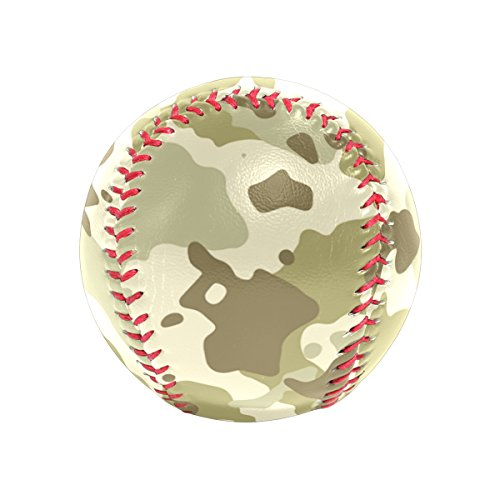 super3Dprinted Military Camo Camouflage Pattern Print Recreational Play Baseball by super3Dprinted